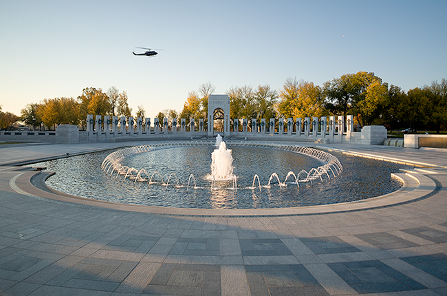 The World War II Memorial Washington DC Oehme Van Sweden Assoc